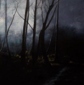 Contemporary Painting Edge of Day by Ashley Wiltshire Spotswood