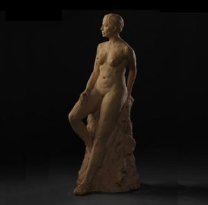 Sonya - Contemporary Sculpture by Alan_LeQuire