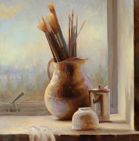 Juliette Aristides: Interiors and Still-Lifes - Contemporary Paintings - LeQuire Gallery