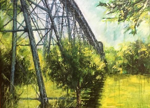 September Exhibit: NASHVILLE PARKS: PAINTINGS | WOOD TURNINGS | WALL SCULPTURES