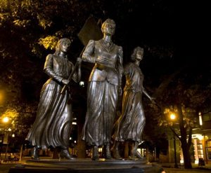 2020 Women's Suffrage Right To Vote Equality Monument by Alan LeQuire