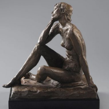 Seated Susan by Alan LeQuire - Contemporary Sculptures