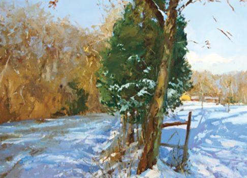 Lori Putnam Close to Home Feature in American Art Collector!
